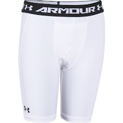 Under Armour Boy`s Youth HeatGear Armour Fitted Shorts Image