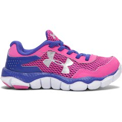 Under Armour Girl`s Infant UA Engage II BL Running Shoes Image