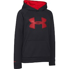 Under Armour Boys Youth UA Storm Armour Fleece Big Logo Hoodie Image