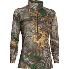 Under Armour Women's Tech Camo 1/2 Zip Image
