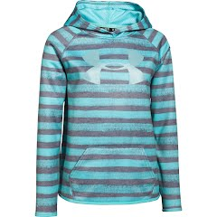 Under Armour Youth Girl`s UA Armour Fleece Printed Big Logo Hoodie Image