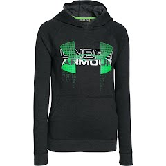 Under Armour Boy's Youth Commuter Tri-Blend Fleece Hoodie Image