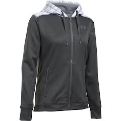 Under Armour Women's UA Icon Caliber Full Zip Hoodie Image