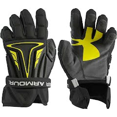 Under Armour UA NexGen Lacrosse Gloves Image