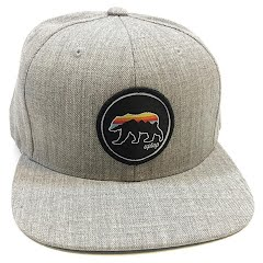 7309da70cf1c7 Grizzly Sunset Snapback Hat. by Uptop