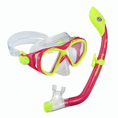 Us Divers Youth Buzz Mask + Island Jr Snorkel Combo Image