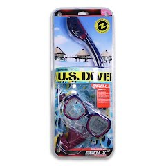 Us Divers Women's Audrey Pro LX Mask and Tucson Snorkel Image
