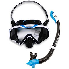 Us Divers Starbuck Purge LX Mask and Paradise-Dry Snorkel Image