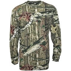 Walls Youth Long Sleeve Camo Shirt Image