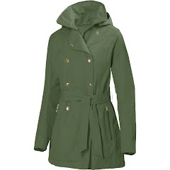 World Famous Women's Trench Rain Coat Image