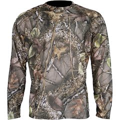 World Famous Men's Wicking Long Sleeve Shirt Image