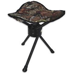 World Famous Folding Swivel Stool Image
