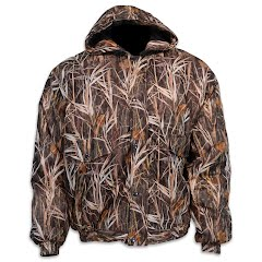 World Famous Men's Waterfowl Waterproof Warp Knit Insulated Hooded Jacket Image