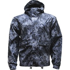 World Famous Men's Adrenaline Waterproof Warp Knit Rain Jacket Image