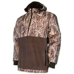 World Famous Hooded 1/4 Zip Waterfowl Pullover Image