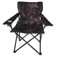 World Famous Camo Quad Folding Chair with Arm Rest Image