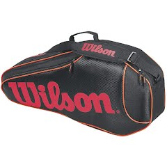 Wilson Burn Team 6 Pack Tennis Bag Image