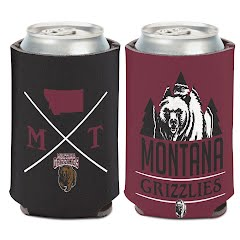 Wincraft Hipster University of Montana Grizzlies Can Cooler Image