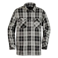 White Sierra Mens Desolation Shirt Jacket Image