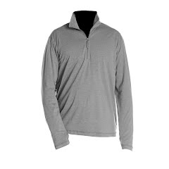 White Sierra Mens Swamp 1/4 Zip Tee Image