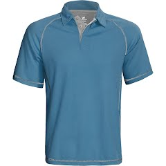 White Sierra Men's Granite Creek Polo Image