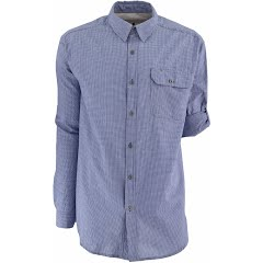 White Sierra Men's Cottonwood Long Sleeve Shirt Image