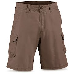 White Sierra Men's Northridge Cargo Short Image
