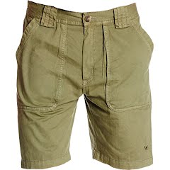 White Sierra Men's Chugger Short Image