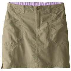 White Sierra Girl`s Youth Canyon Skort Image