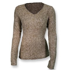 White Sierra Women's Top Notch V-Crew Sweater Image