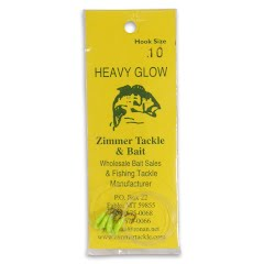 Zimmer Tackle Heavy Glow Ice Fishing Lure, Size 10 (4 Pack) Image