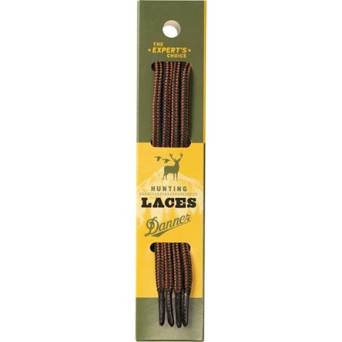 Image of Danner Black And Tan Boot Laces ( 84 Inch ) - Black