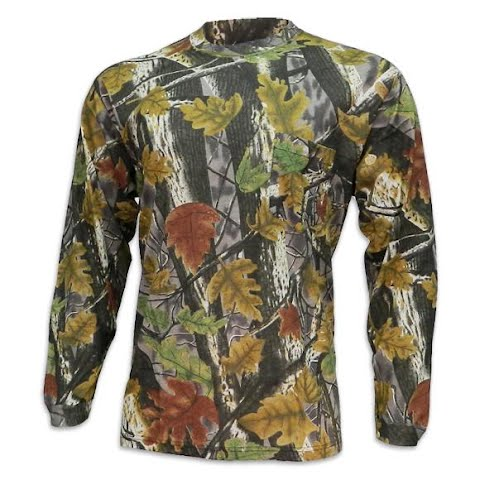 Master Sportsman Youth Pursuer Long Sleeve Shirt - Sherbrooke Camo thumbnail