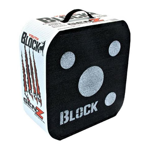 Field Logic Youth Block Gen Z Archery Target - Black thumbnail
