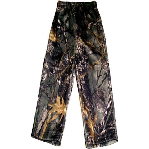 World Famous Youth Cotton Pull - On Pant - Burly Camo thumbnail
