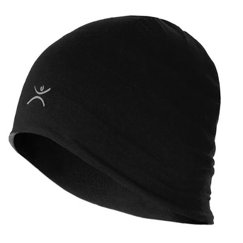 Image of Terramar Adult Thermawool Reversible Beanie - Black