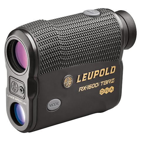 Leupold Rx - 1600i Tbr / W With Dna Laser Rangefinder - Black / Gray thumbnail