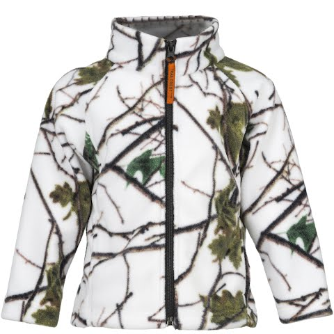 Trail Crest Youth Toddler Outdoor Jiffy Jacket - Snow Camo thumbnail