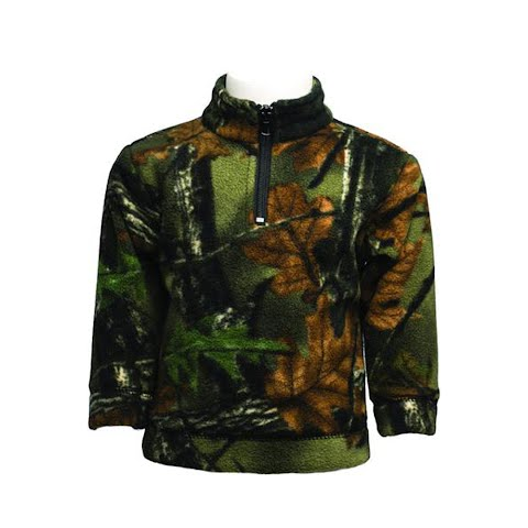 Trail Crest Youth Toddler Camo Everyday Easy 1 / 4 Zip - Highland Timber thumbnail