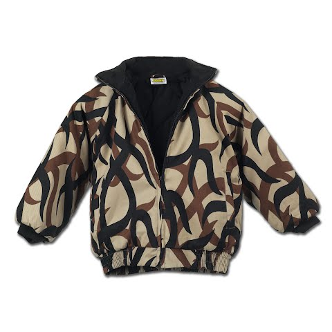 Asat Camouflage Youth Insulated Bomber Jacket - Camo thumbnail