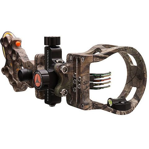 Apex Attitude Micro Adjustable 5 Pin Bow Sight - Realtree Xtra thumbnail
