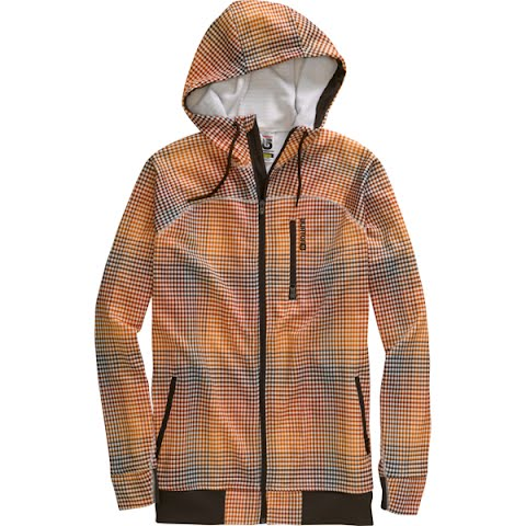 Image of Burton Mens Sophisto Fleece - Bitters Gingham