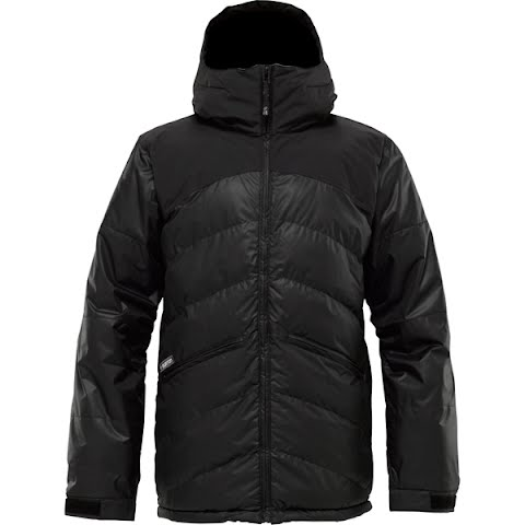 Image of Burton Mens Puffaluffagus Jacket - True Black