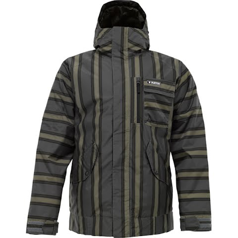 Image of Burton Mens Such - A - Deal Jacket - Flint Baja Stripe