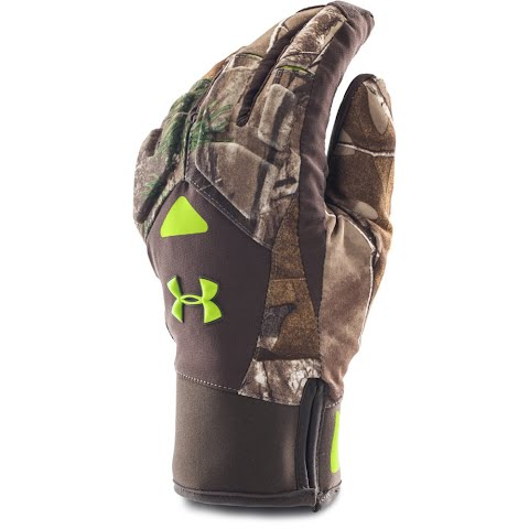 Under Armour Men's Ua Coldgear Infrared Scent Control 2 . 0 Primer Gloves – Realtree Ap Xtra /