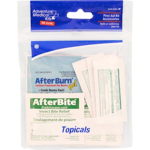 Adventure Medical Refill, Topicals Image