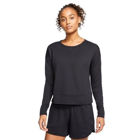 Nike Women's Nike Yoga Long-Sleeve Top Image