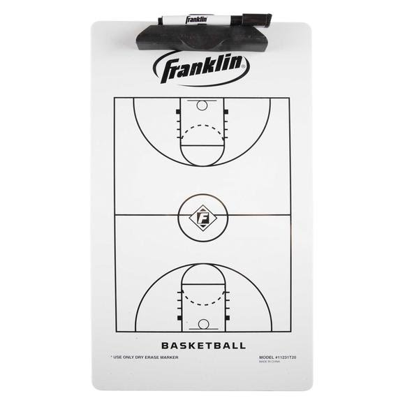 Franklin Basketball Coach Clipboard Image