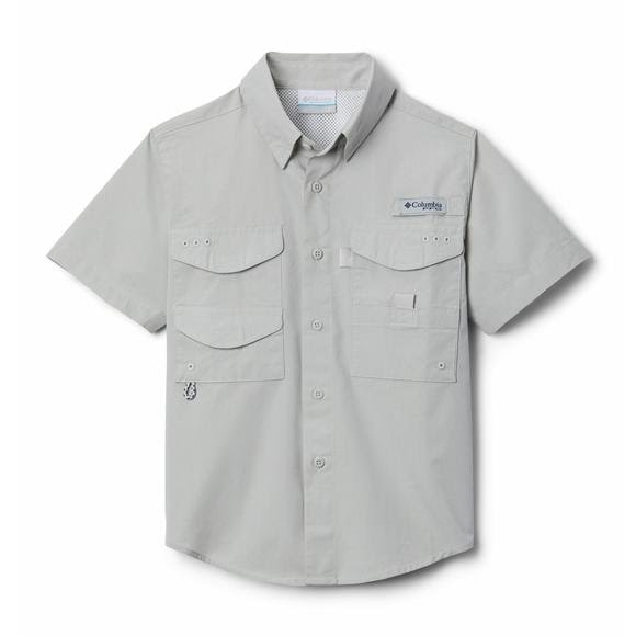 Columbia Youth Boys' PFG Bonehead Short Sleeve Shirt Image