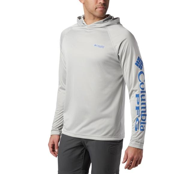 Columbia Men's PFG Terminal Tackle Heather Hoodie Image